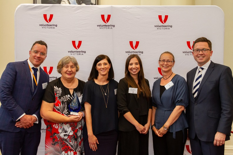 Volunteering Victoria State Award Recipient